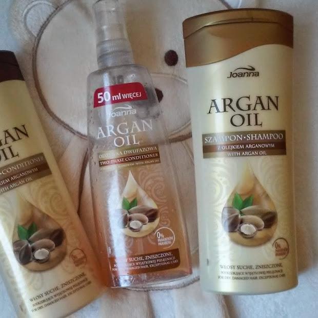 Zestaw Argan Oil od Joanny