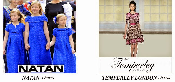 Queen Mathilde's Natan And Temperley Dresses