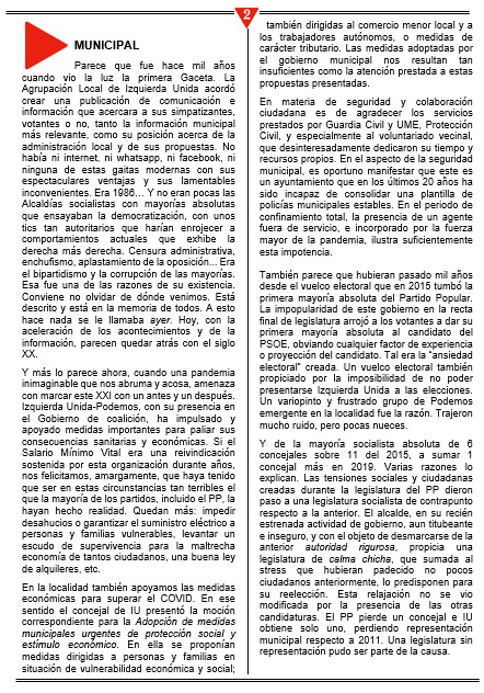 GACETA 44/2