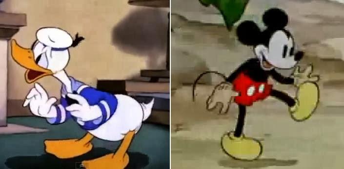 karakter kartun terkenal, menarik, lucu dan menghibur Mickey Mouse