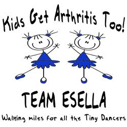 Click the Team Esella Logo Below to Donate In Honor of Esella