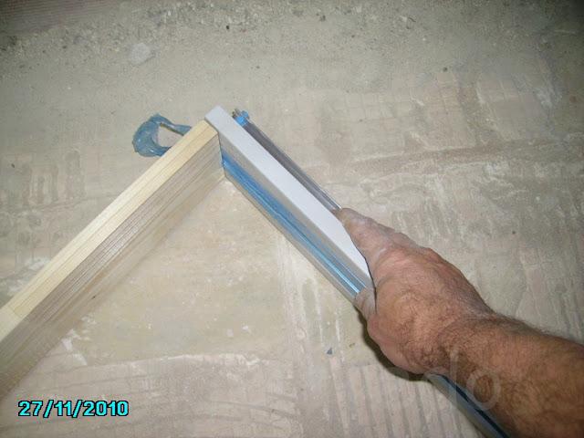 C mo colocar armaz n de una puerta corredera en obra - Como colocar puertas correderas ...