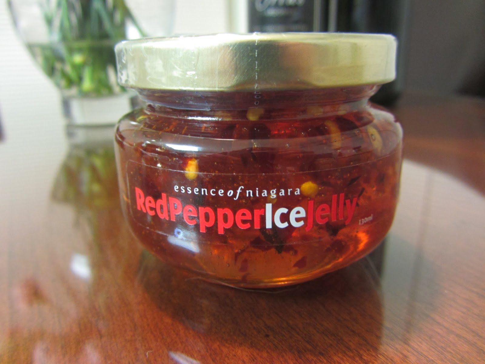 Red pepper icewine jelly