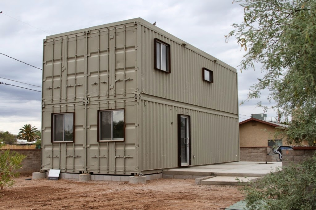 6.) Utilitarian… and awesome. - All You Need is Around $2000 to Begin Building One of These Epic Homes – Made From Recycled Shipping Containers!