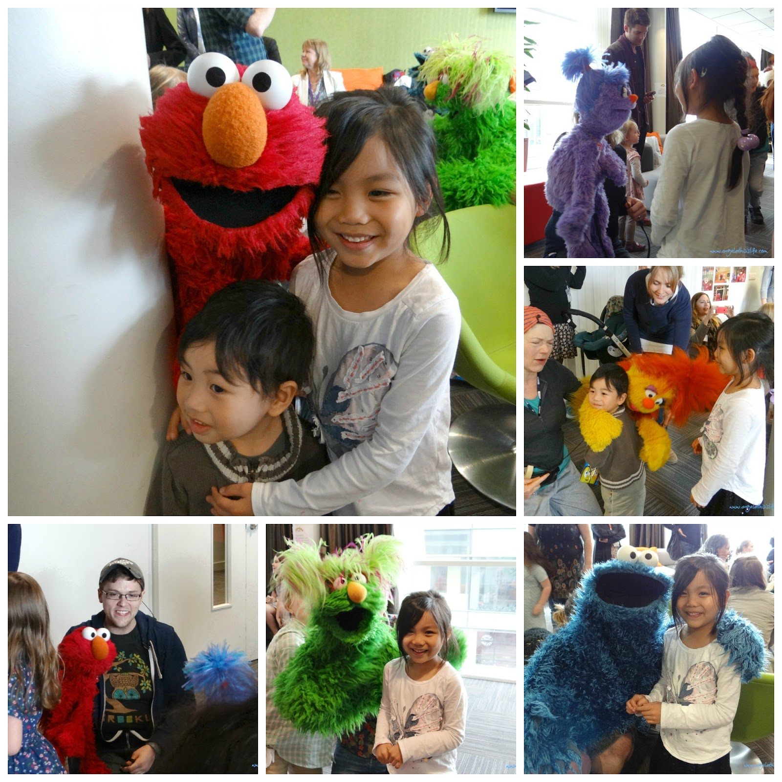 Sesame Street, #Furchester Hotel on CBeebies, Elmo and Cookie Monster