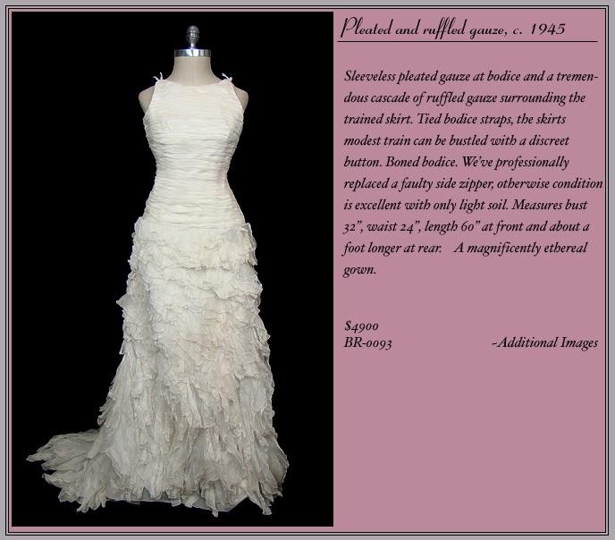 La Sirena y el Mar: El vestido de novia en los años 40