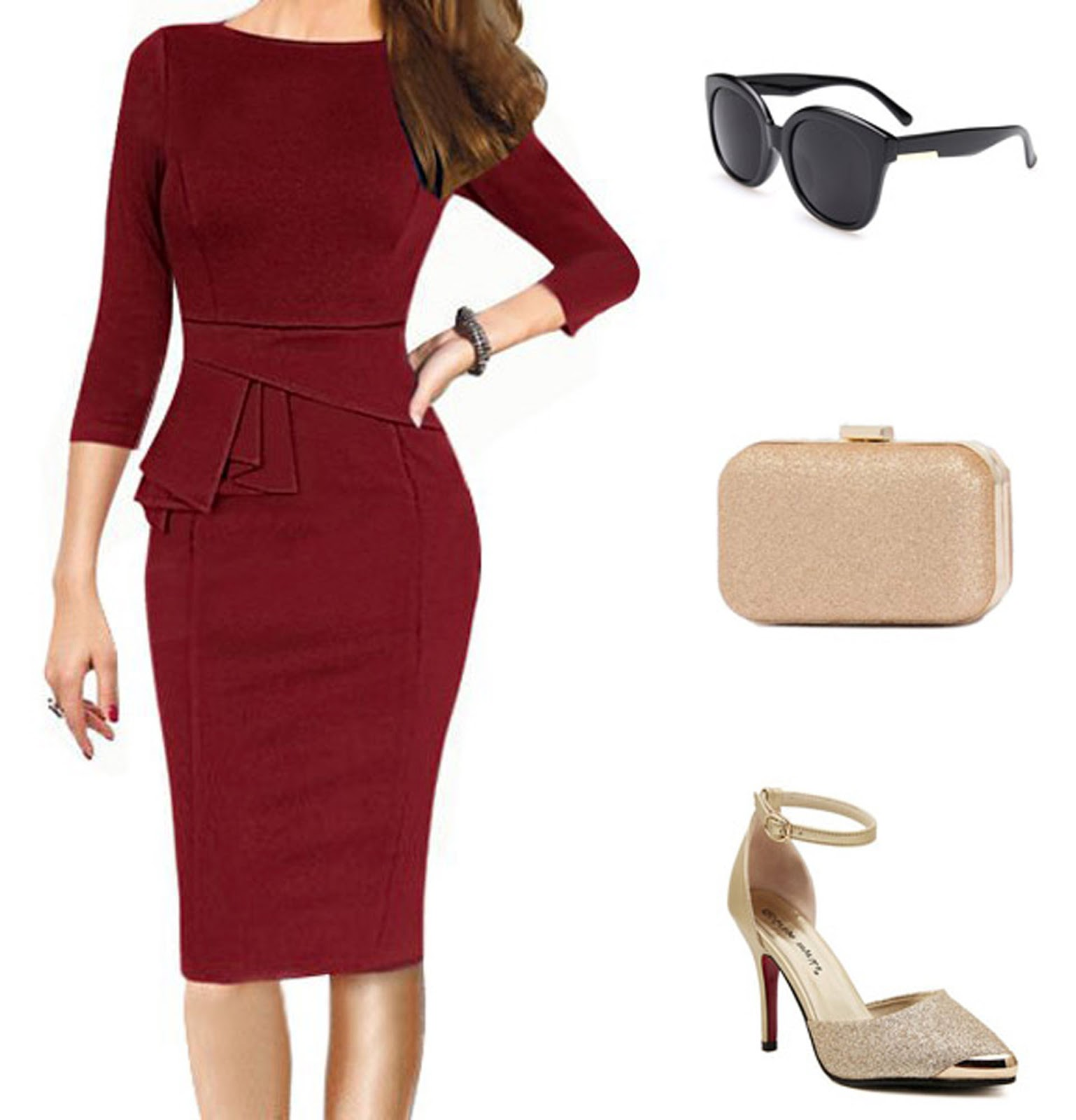 Eniwhere Fashion - Autumn is coming - Sammy Dress