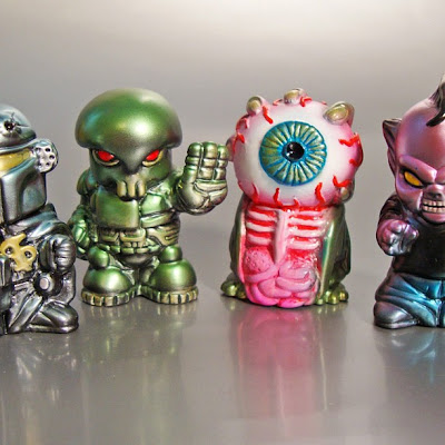 First Look Fig-lab Finger Five Series 1 - Paul Kaiju, The Sucklord, MonstreHero, Onell Design & L'amour Supreme