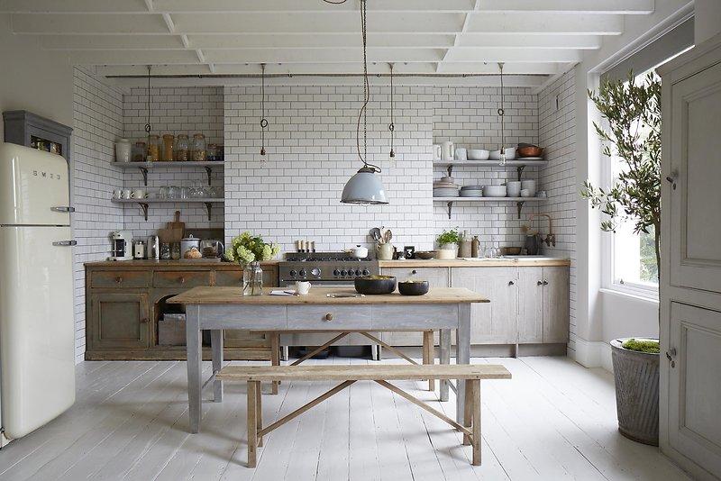 Cocina, comedor, salón y despacho: juntos pero no revueltos ...