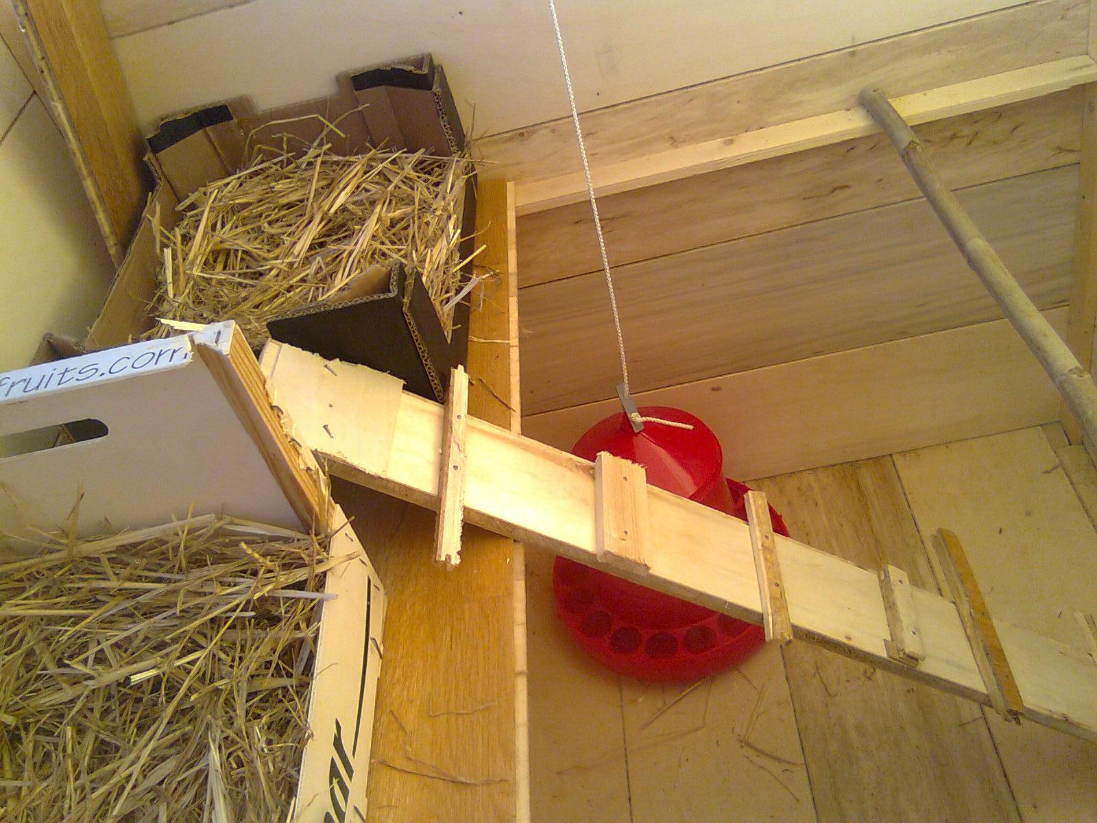 Hermano topillo gallinero de madera reciclando paso a paso for Como hacer una puerta de madera paso a paso