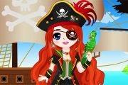 Gemideki Korsan Kız