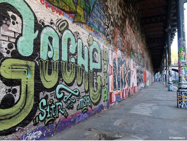 street art gocho gare de saint-ouen à Paris