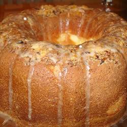 Southern Style Sour Cream ~ Orange Pecan Pound Cake