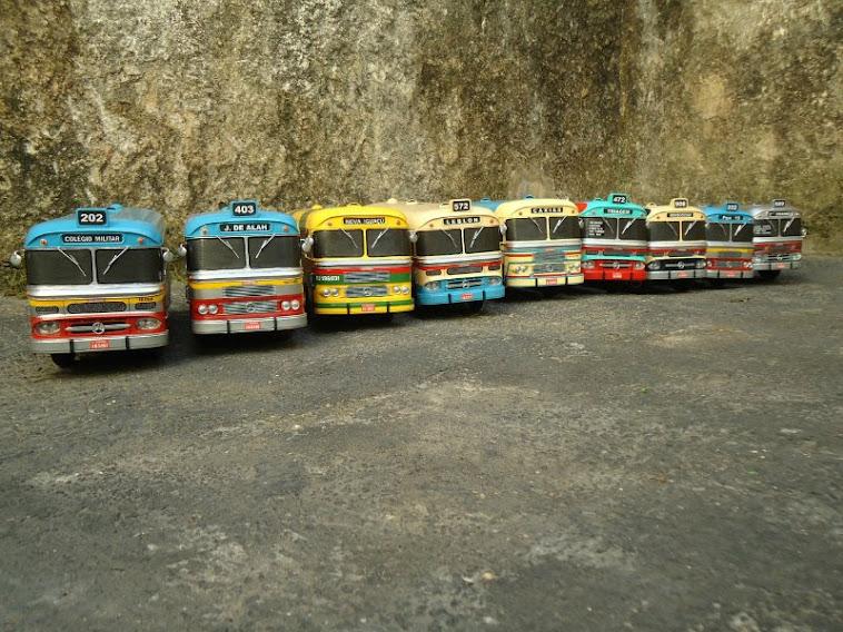 Miniaturas do ônibus Cermava 2ª edição 2012