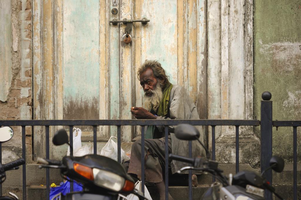 Street photography from Mumbai in India