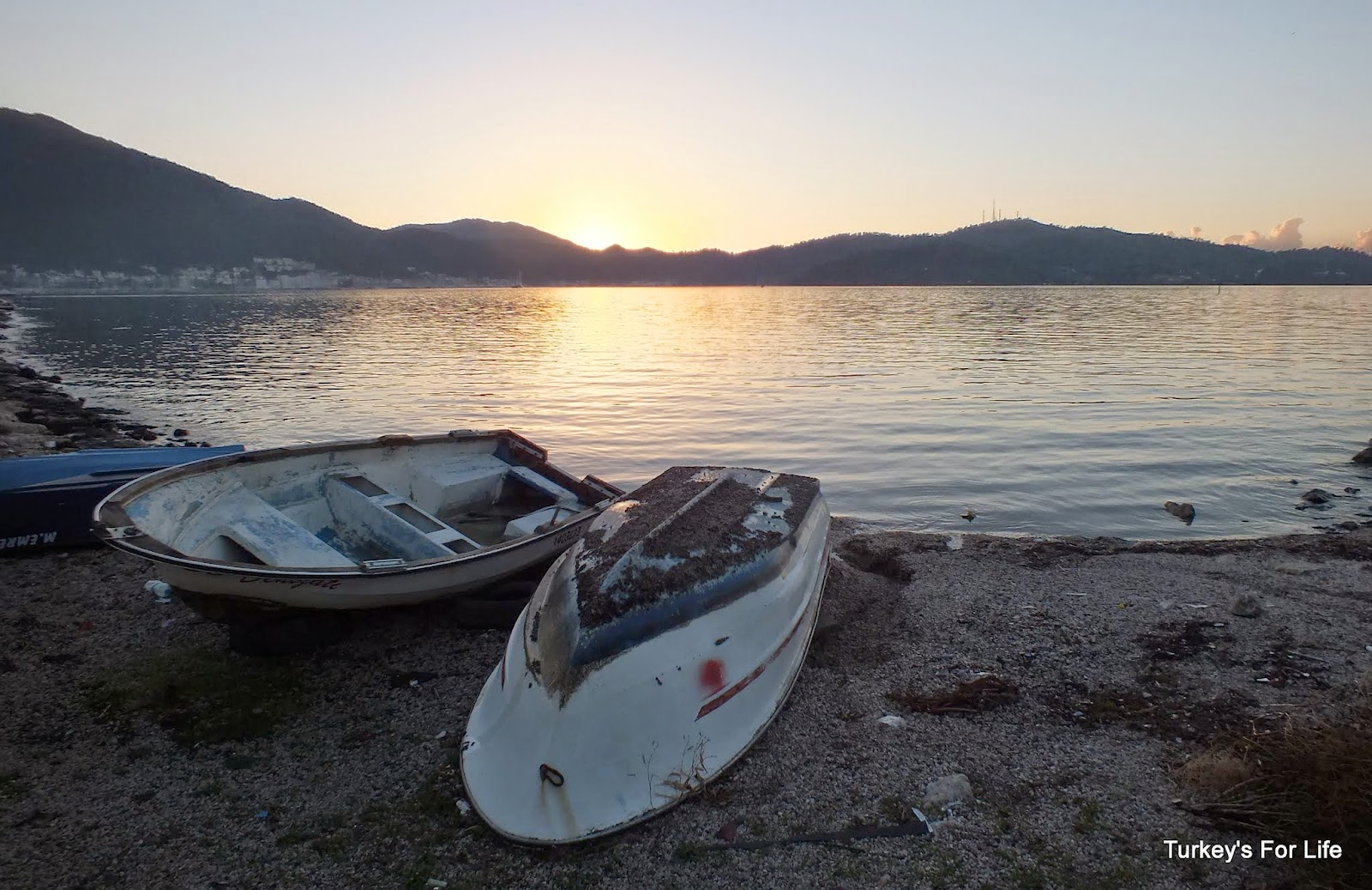 Fethiye Sunset After The Storm