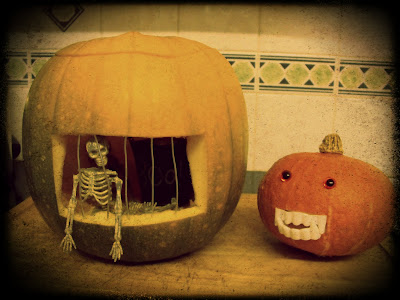 Halloween Pumpkin Prison and Cute Pumpkin