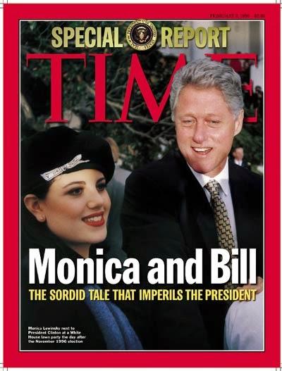 Resultado de imagem para BillClinton e monica lewinsky