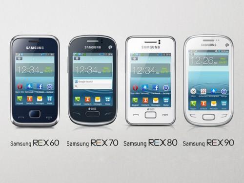 L'azienda coreana Samsung ha presentato per l'india i nuovi telefonini della serie REX a basso costo
