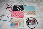Various Wristlets - Thanks Huda!