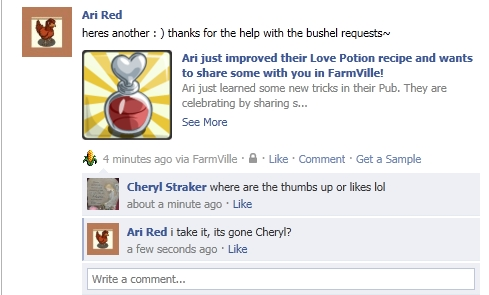 Mastering Farmville: WE CAN NOW MAKE LOVE POTIONS IN OUR EC CRAFTING