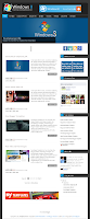 Windows 8 v2 Blogger Template