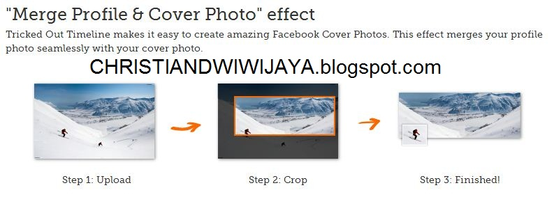 Cara Menggabungkan Foto Profil Dengan Sampul Facebook