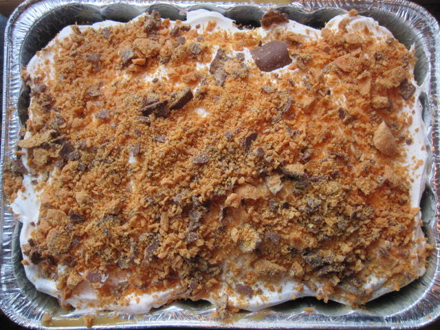 Butterfinger Cake Without Condensed Milk
