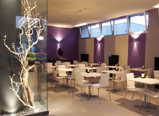 Cafe interior design back 2 home for Interior cafe designs