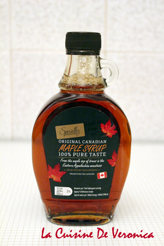 Maple Syrup 楓樹糖漿