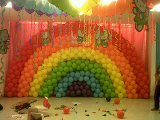 Dekorasi Brithday Party