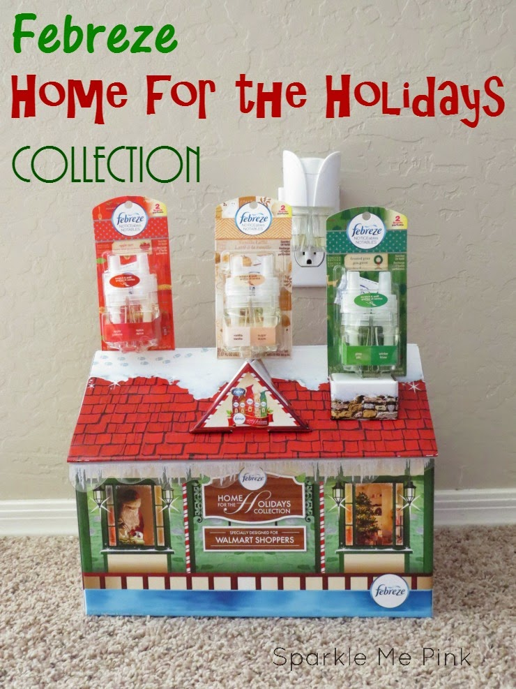 Sparkle Me Pink Febreze Home For The Holidays Collection