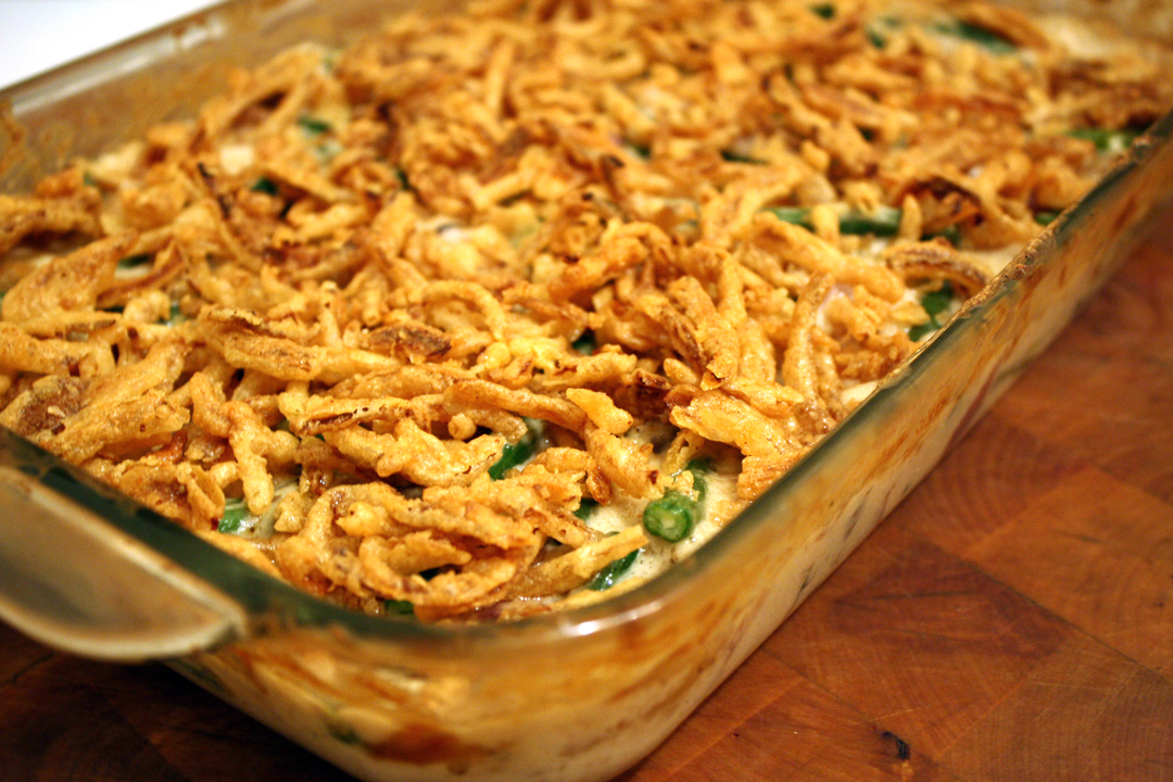 Easy green bean casserole for Easy thanksgiving green bean recipes