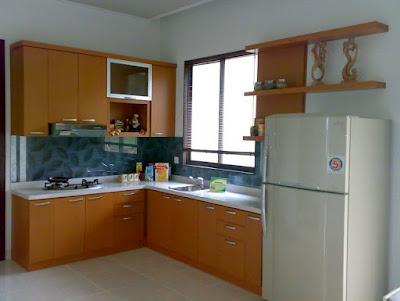 interior dapur kecil minimalis