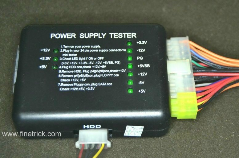Power Supply Tester : Power supply atx