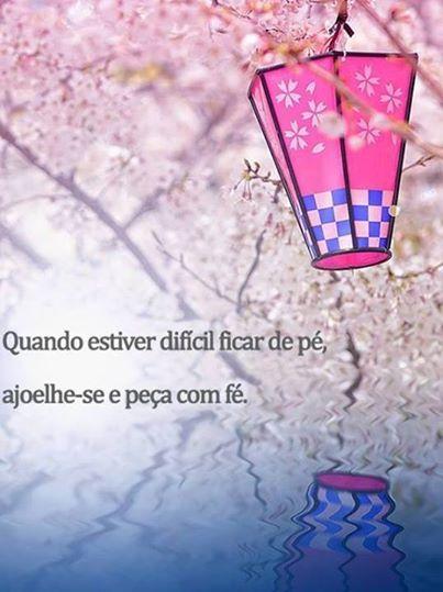 Peça com fé!