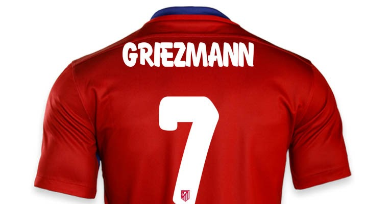 Atletico Madrid Reveal New Font For   Kits Footy Headlines