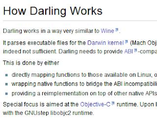 Darling, el wine de Mac llega a Linux, wine para mac de linux,