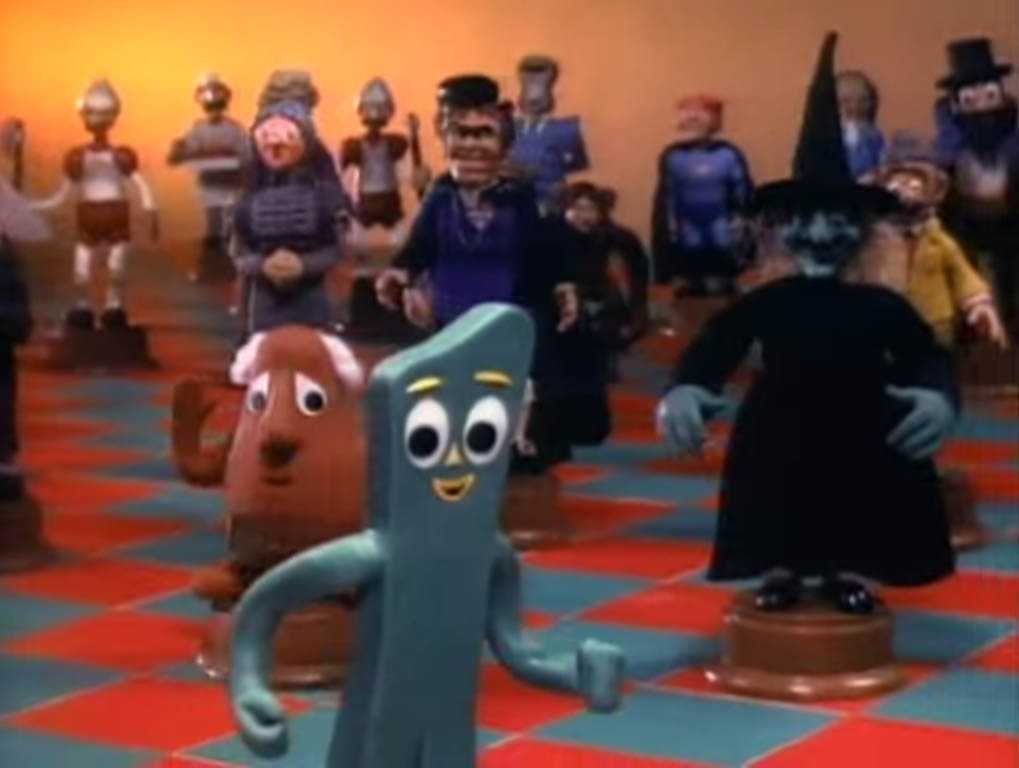 The weirdness and the joy of the classic 1950's Gumby claymation Gumby stop-motion clay animation