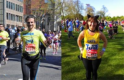 London Marathon runners raising money for Cats Protection