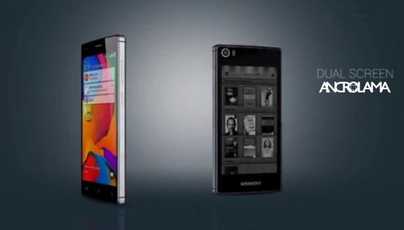 Çift Ekranlı Akıllı Telefon Tanıtıldı
