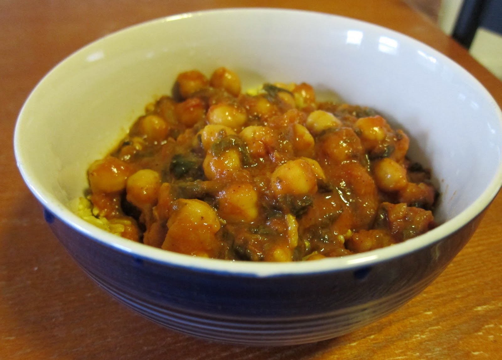 The Perfect Recipe Project: Chana Masala (Chickpea Curry) with Spinach