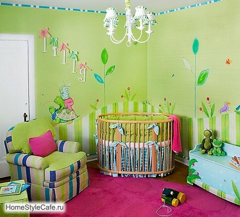 Unisex Nursery Decorating Ideas - Kitchen Layout and Decorating Ideas