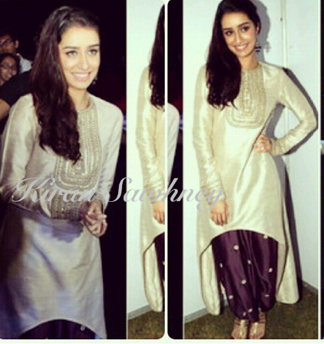 Shraddha Kapoor at Sarjan foundation event in Payal Singhal