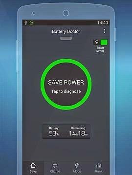 تحميل برنامج Battery Doctor للحفاظ على البطاريه للاندرويد