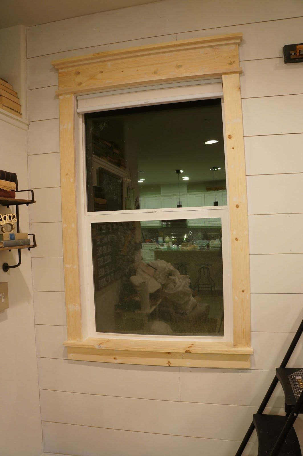 Perfecting the homefront create a farmhouse window for Exterior 1x4 trim