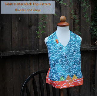 halter neck top free pattern