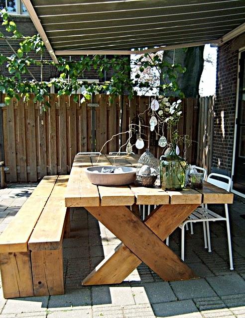 Estilo rustico mobiliario rustico para exteriores for Mobiliario para exteriores