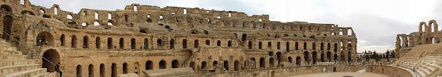 突尼西亞, tunisia, El Gem, Colosseum, 伊利捷古城, 鬥獸場