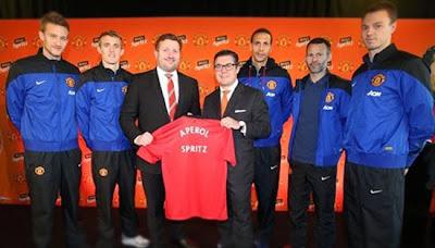 Manchester United Sponsorship Aperol 20132014